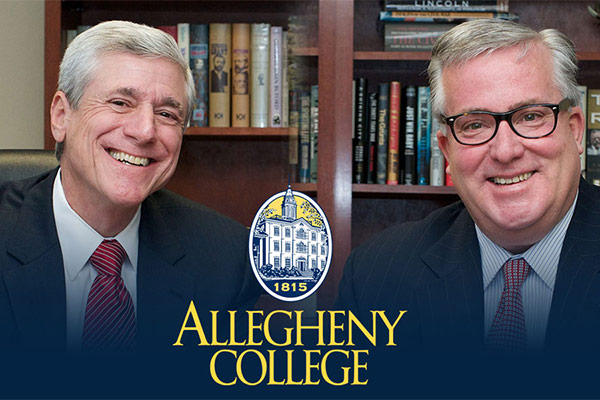 Allegheny College Honors Alan Novak and T.J. Rooney as Inaugural Recipients of the 'Allegheny College Prize for Civility in Public Life in Pennsylvania'
